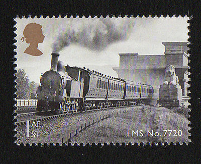 2014 SG 3573 1st NVI 'LMS No 7720' (Gummed) Classic Locomotives of Wales PSB DY9
