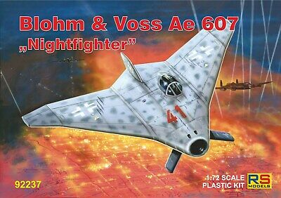 RS Models 1/72 Model Kit 92237 Blohm-und-Voss Ae-607 Nightfighter