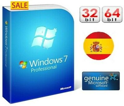 GENUINE WINDOWS 7pro  PROFESSIONAL LICENSE KEY FOR 32/64 BIT ACTIVATION New