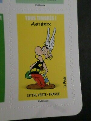 FRANCE, 2019 TP AUTOADHESIFS, ASTERIX, TOUS TIMBRES', neuf**, COMICS, MNH STAMP