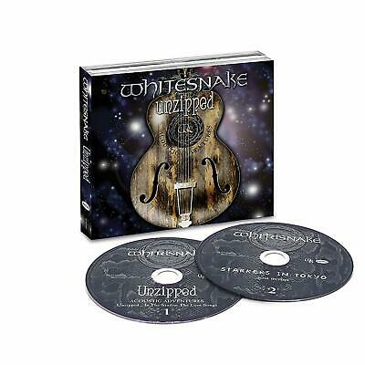 WHITESNAKE Unzipped (2018) 31-track 2-CD album set NEW/SEALED