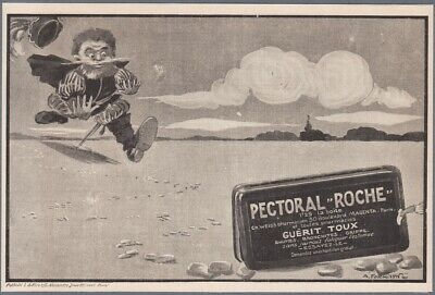 1907 Print Ad Pectoral Roche Tablets Remedy Medicine by A. Formysin