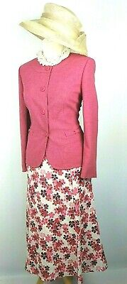 Eastex Ladies 2 piece Outfit size 12 14 Rose Pink  Mother of the Bride Races