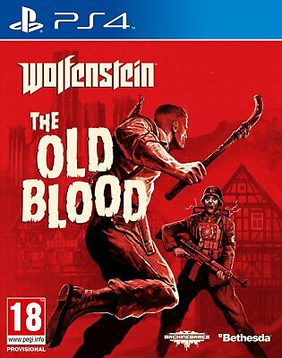 Wolfenstein - The Old Blood For PS4 (New & Sealed)