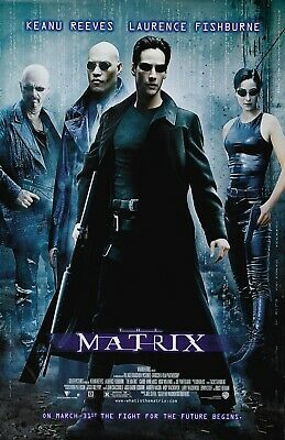 The Matrix movie poster print  (style A) : 11 x 17 inches - Keanu Reeves poster