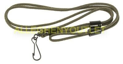 "US Military OD Green 31"" Lanyard Pistol Carrying Cord NSN 8465-00-965-1705 EXC"