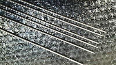 302 Stainless Steel Spring Wire 2 Mm X 300 Mm   1/2 Hard   6 Off