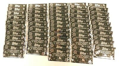2018 Topps 53 Hobby Packs Holiday Exclusive Bowman Baseball Cards Lot