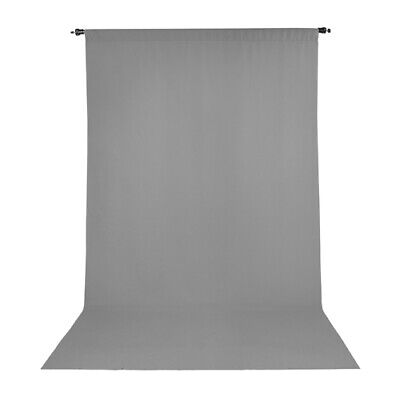 Promaster Wrinkle Resistant Muslin Backdrop 10'x20' -- GRAY -- #2988