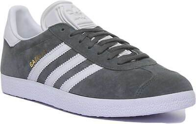 Adidas Gazelle Mens Casual Suede Leather Trainer In Khaki Size UK 6 - 12