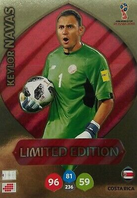 * limited edition world cup 2018 * panini adrenalyn xl