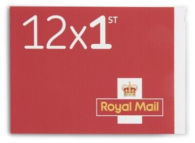 Royal mail 1st class stamps Book Of 12 Letter Stamps