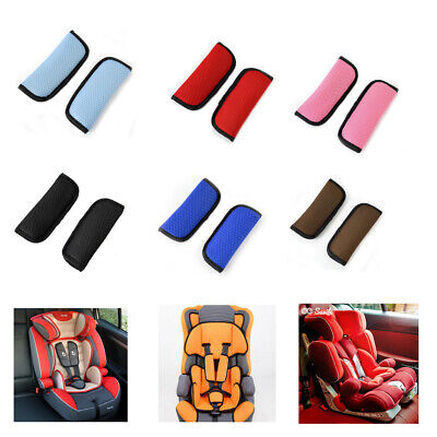 1X Baby Infant Stroller Cushion Car Seat Vehicle Safety Shoulder Strap Cover Pad