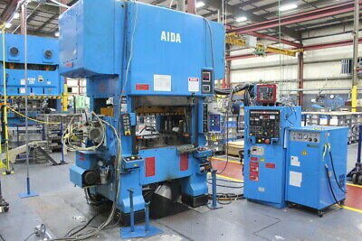 Aida 60 Ton High Speed Press HMX-600U with Soundproof Enclosure