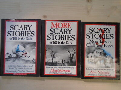 Scary Stories Trio (3 Books) (Scary Stories To Tell In The Dark; More Scary Stor