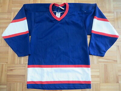7b1ce88bf9e NWT True vintage CCM Maska ultrafil Winnipeg Jets BLANK blue hockey jersey  Men S