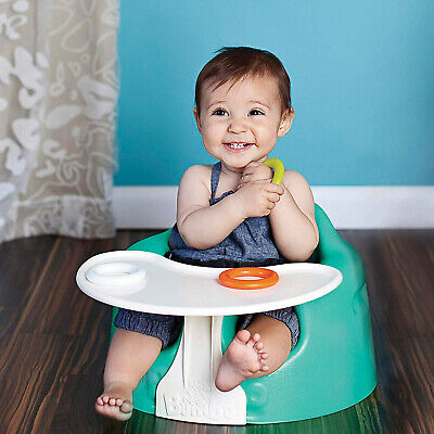 Bumbo Floor Seat Tray Portable Food Play Surface Kids Baby Safety Feeding Chair