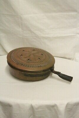 Bed Warmer Antique, Copper, Dating 1800 / Bed Warmer/Bed Warmer Copper (F _ E)