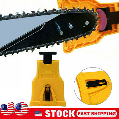 Easy File Chainsaw Teeth Chain Sharpener Tool Sharpening Grinding stone