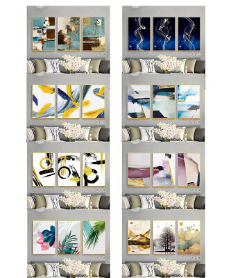 Large Modern Wall Art Print On Canvas Abstract Painting HD Picture 3 Panel Decor