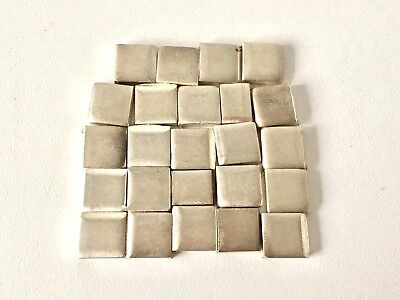 SOLID STERLING SILVER BLOCKS - CRAFT JEWELLERY MAKING INVESTMENT - 70g