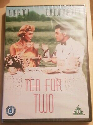 Tea For Two (DVD) Doris Day Region 2 - New and Sealed