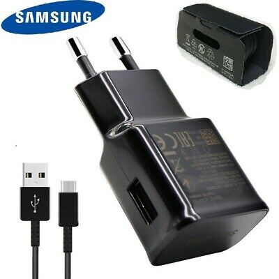 Original Samsung EP-TA200 Adapter Fast Charge USB TypeC Cable For S10 S10e S9 S8