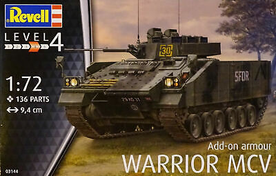 47364 Sonderpreis Revell 03144 Add-on armour Warrior MCV 1:72 Bausatz NEU OVP