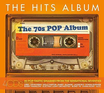 The Hits Album - The 70s Pop Album -  CD 74VG The Cheap Fast Free Post The Cheap