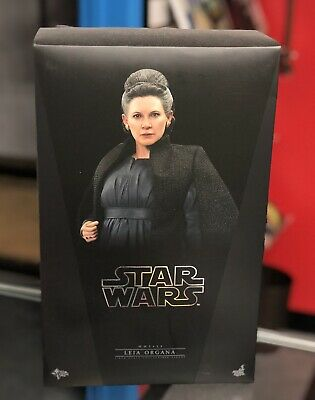 Hot Toys 1/6 Leia Organa Figure Star Wars Last Jedi BRAND NEW Marvel Disney