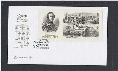 GB 2019 Queen Victoria Stuart FDC First Day Cover Windsor special pmk