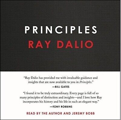 Principles: Life and Work by Ray Dalio (audiobook, Fast e-Delivery)