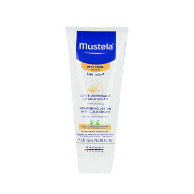 Mustela Bébé Nourishing Body Lotion With Cold Cream (Dry Skin) 200 ml