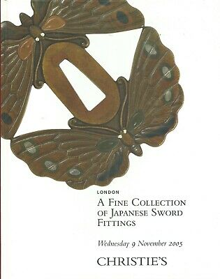 CHRISTIE'S LONDON Japanese Sword Fittings Collection Tsuba Auction Catalog 05 HC