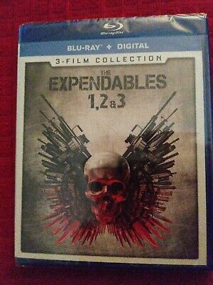 The Expendables 3 Film Collection Blu-Ray Brand New No Digital Code.