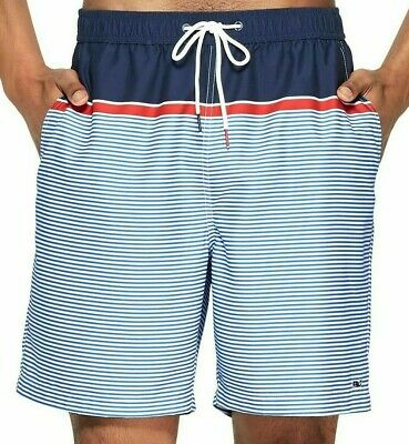b5a7c585e224a VINEYARD VINES for Target MEN'S STRIPED SWIM TRUNKS NAVY/RED - Choose M XXL  New