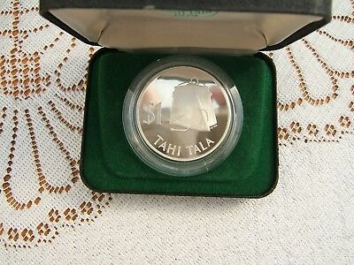 1979 Tokelau Islands   Silver Proof $1 Tahi Tala Coin..........................1
