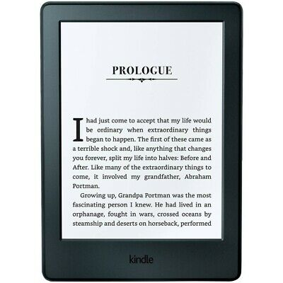 """Kindle E-Reader 6"""" 8 generation Glare-Free Touchscreen Display Wi-Fi Black Boxed"""
