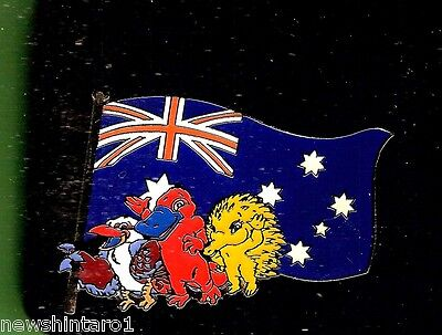 #D98. Boxed Sydney Olympic  Mascot  Pin  With  Australian Flag