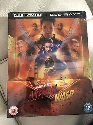 Ant-Man And The Wasp  4K Lenticular Steelbook (Includes 2D Blu- ray / pre order