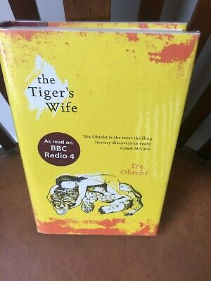 Tea Obreht, The Tiger's Wife, Signed True 1st Edition, 1st Printing