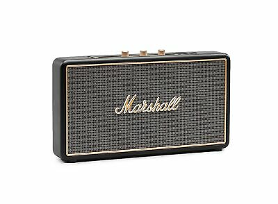 Marshall Portable Bluetooth Speaker Stockwell USB Rechargeable Black 4091390 New
