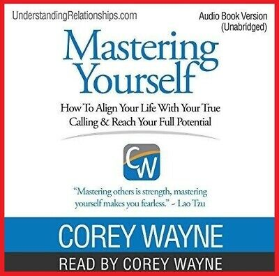 Mastering Yourself How to Align...by Corey Wayne (audiobook, Fast e-Delivery)