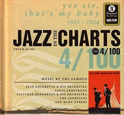 Various - Jazz in the charts 4/100: Yes, Sir - Various CD AYVG The Cheap Fast