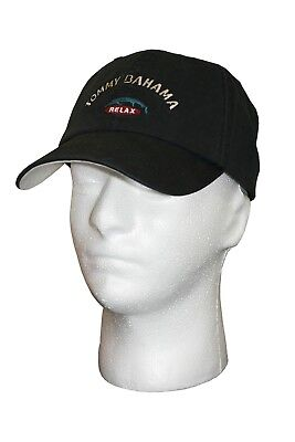 b21824763 BLACK RELAX TOMMY bahama Embroidered baseball hat cap Adjustable ...