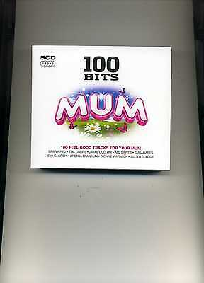 100 Hits Mum - Simply Red Belinda Carlisle Leo Sayer Chris Rea - 5 Cds - New!!