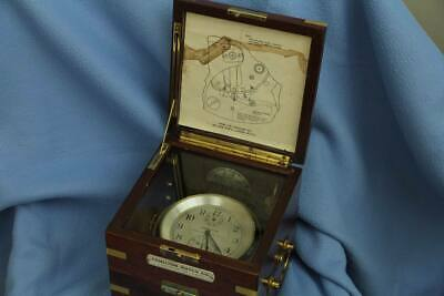 collector's item number 246 HAMILTON MODEL21 MARINE ship CHRONOMETER