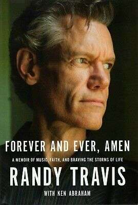 RANDY TRAVIS signed autographed 1st Edition BOOK