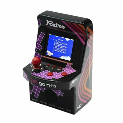 Retro Mini Arcade Machine with 200 Built-in Games - Boxed Novelty Console