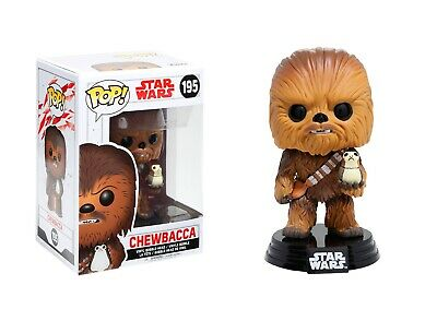 Funko Pop Star Wars™: The Last Jedi - Chewbacca Vinyl Bobble-Head Item #14748